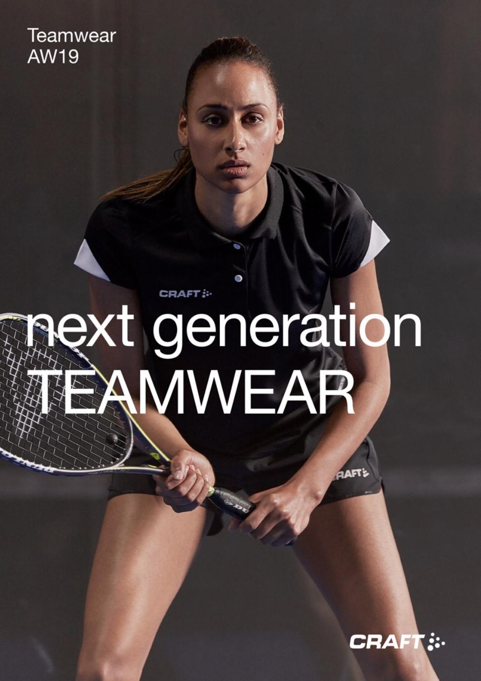 Craft Teamwear Next Generation syksy 2019