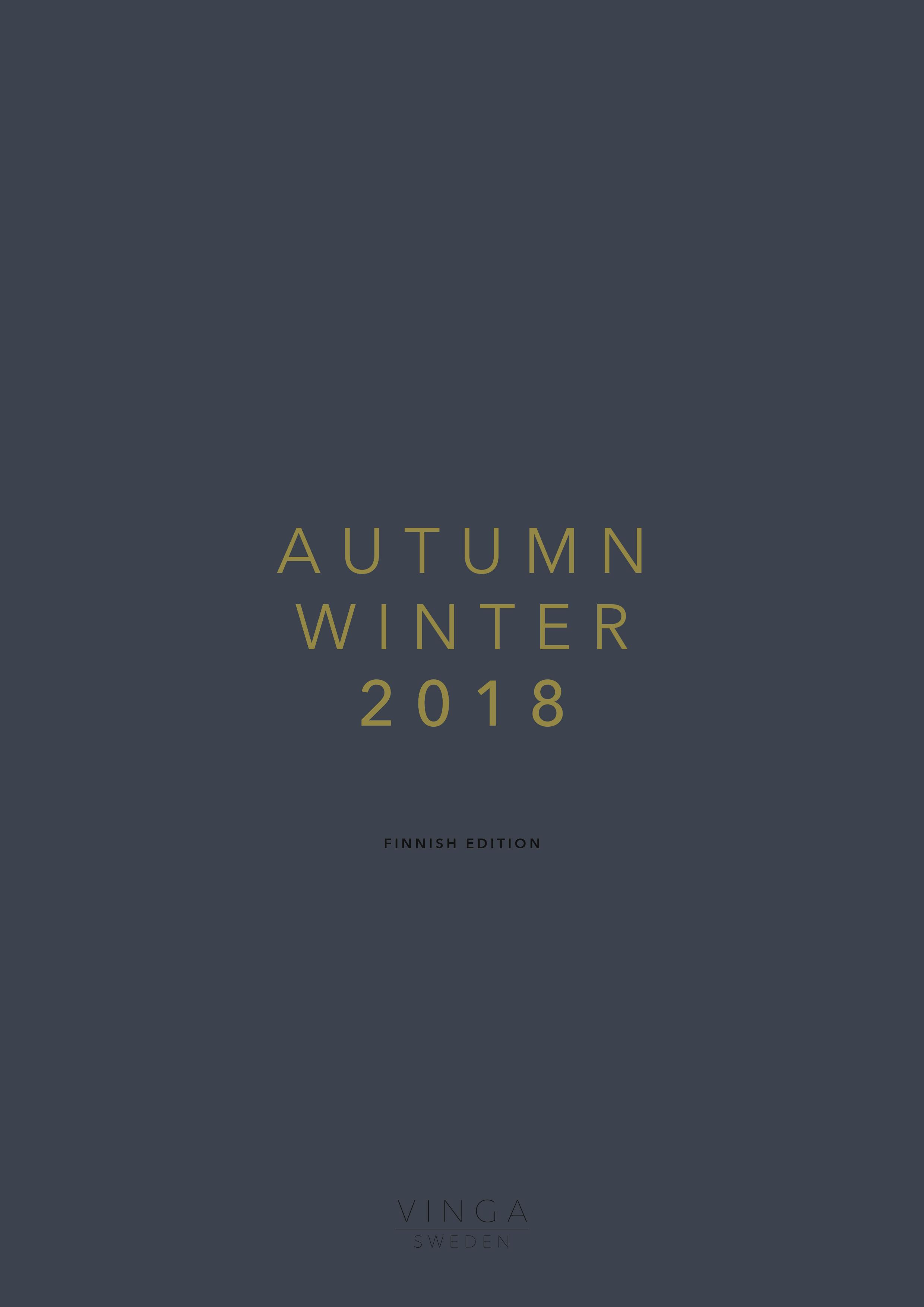 Vinga syksy & talvi 2018