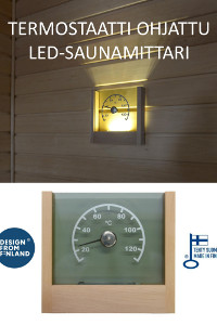 Kotimainen LED-saunamittari