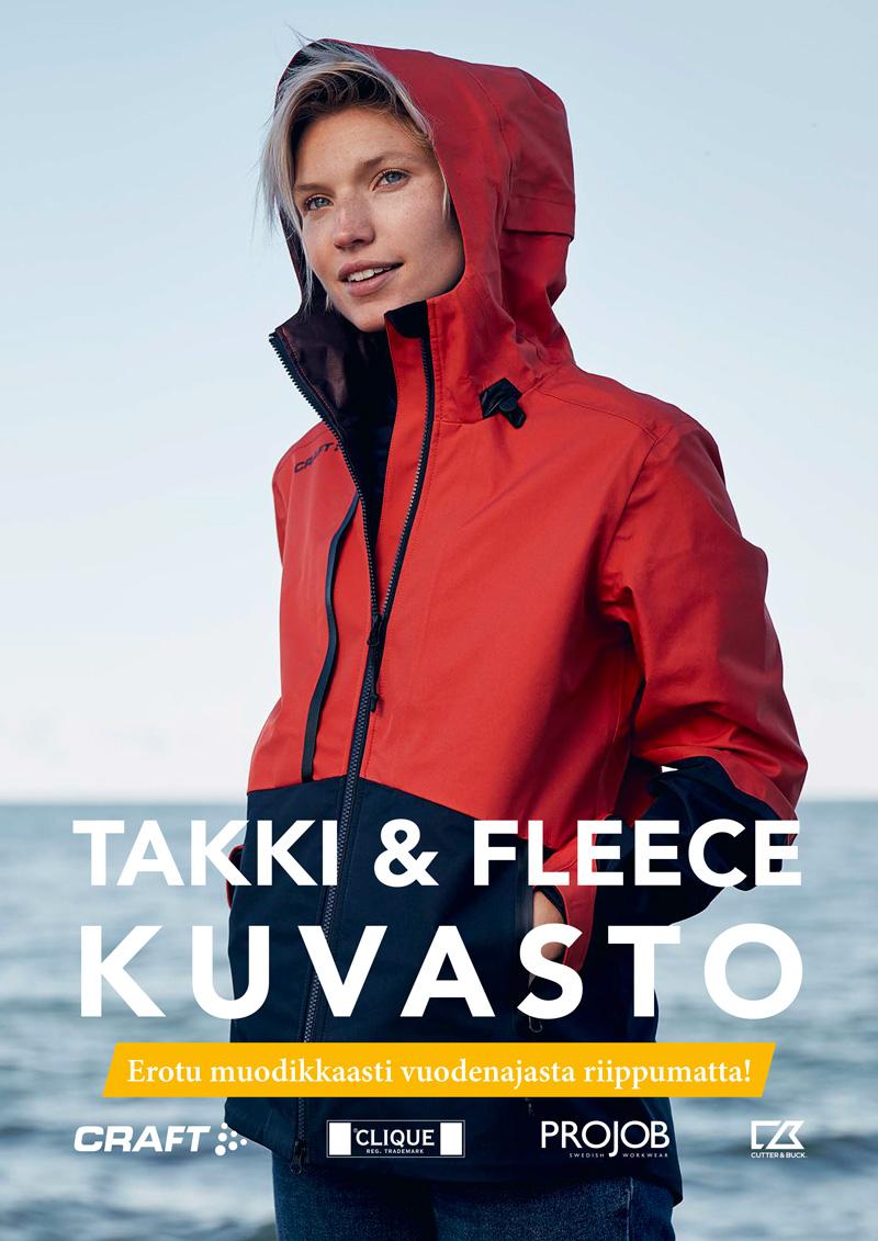 Takki & Fleece kuvasto 2019